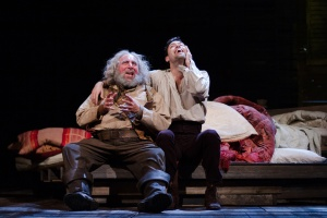 Anthony Sher as Falstaff and Alex Hassell as Prince Hal